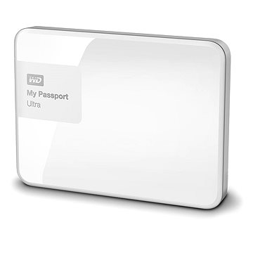 WD 2.5 My Passport Ultra 1TB Brilliant White, bílý (WDBGPU0010BWT-EESN)
