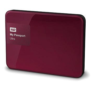 WD 2.5 My Passport Ultra 2TB Wild Berry, červený (WDBBKD0020BBY-EESN)