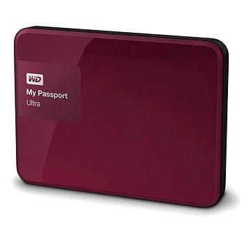 WD 2.5 My Passport Ultra 3TB Wild Berry, červený (WDBBKD0030BBY-EESN)