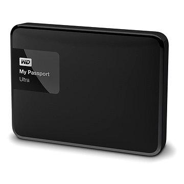 WD 2.5 My Passport Ultra 3TB Classic Black, černý (WDBBKD0030BBK-EESN)