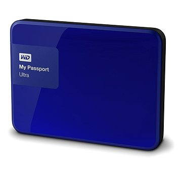 WD 2.5 My Passport Ultra 3TB Noble Blue, modrý (WDBBKD0030BBL-EESN)