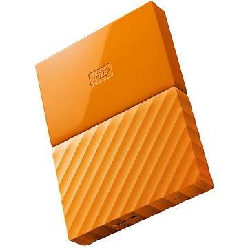 """WD 2.5"""" My Passport 1TB oranžový (WDBYNN0010BOR-WESN)"""