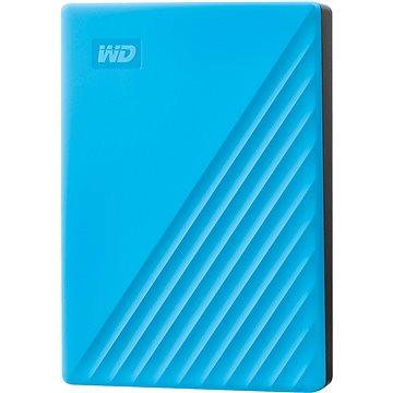 WD My Passport 4TB, modrý (WDBPKJ0040BBL-WESN)