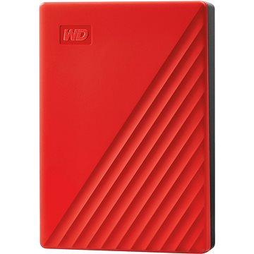 WD My Passport 4TB, červený (WDBPKJ0040BRD-WESN)