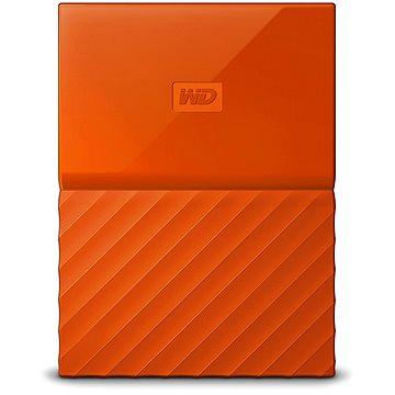 WD My Passport 2TB USB 3.0 oranžový (WDBS4B0020BOR-EEEX)