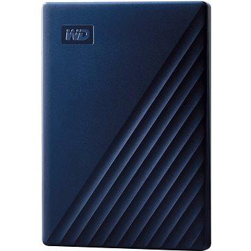 WD My Passport pro Mac 4TB, modrý (WDBA2F0040BBL-WESN)