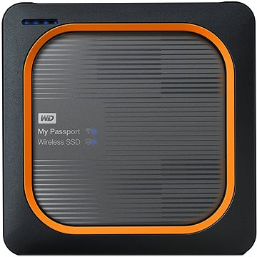 "WD 2.5"" My Passport Wireless SSD 1TB USB3.0 SD (WDBAMJ0010BGY-EESN)"