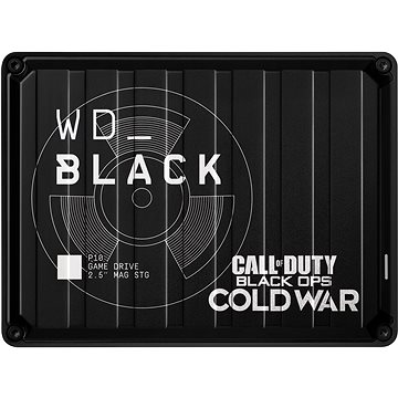 WD BLACK P10 Game drive 2TB Call of Duty: Black Ops Cold War Special Edition (WDBAZC0020BBK-WESN)