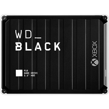 WD BLACK P10 Game drive 5TB pro Xbox One, černý (WDBA5G0050BBK-WESN)