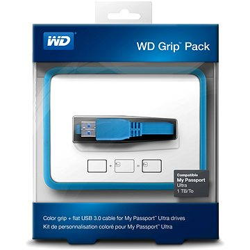 WD Grip Pack 500GB/1TB Sky, modrý (WDBZBY0000NBL-EASN)
