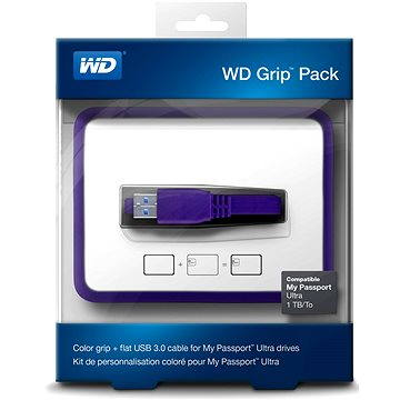 WD Grip Pack 500GB/1TB Grape, fialový (WDBZBY0000NPL-EASN)