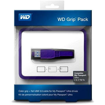 WD Grip Pack 2/3/4TB Grape, fialový (WDBFMT0000NPL-EASN)