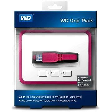 WD Grip Pack 2/3/4TB Fuschia, růžový (WDBFMT0000NPM-EASN)