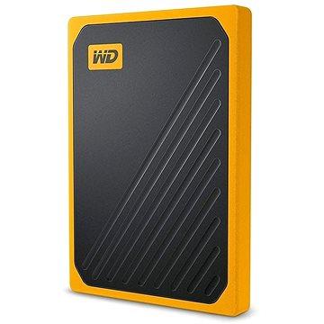 WD My Passport GO SSD 2TB žlutý (WDBMCG0020BYT-WESN)