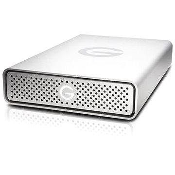 G technology G-DRIVE 4TB, Stříbrná (0G03595)