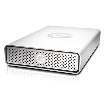 G technology G-DRIVE 8TB, Stříbrná (0G03907)
