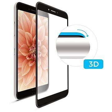 FIXED 3D Full-Cover pro Samsung Galaxy A3 (2017) černé (FIXG3D-157-BK)