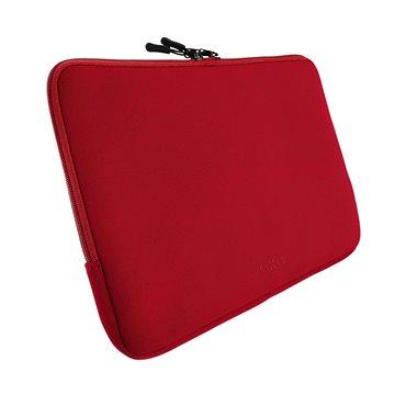 """FIXED Sleeve pro notebooky o úhlopříčce do 15.6"""" červené (FIXSLE-15-RD)"""