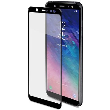CELLY Full Glass pro Samsung Galaxy A6+ (2018) černé (FULLGLASS738BK)