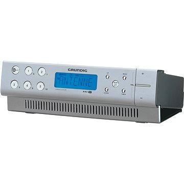 Rádio GRUNDIG SonoClock 890 hliníkový (SonoClock890aluminium)