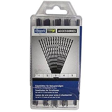 Scheppach Plátky pro lupínkové pily (box 5x12 ks) (88000010)