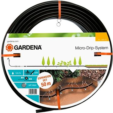 Gardena Mds-kapací hadice podzemní 13,7 mm, 50 m - rozšiřovací sada (1395-20)