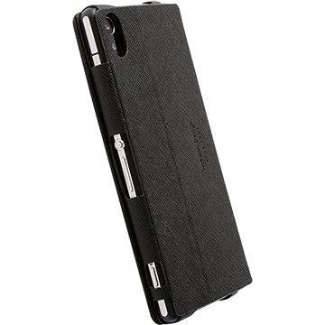 Krusell MALMÖ FLIPCASE pro Sony Xperia Z2, černé (75794)
