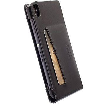 Krusell KALMAR WALLETCASE pro Sony Xperia M4 Aqua/M4 Aqua Dual, černé (76113)