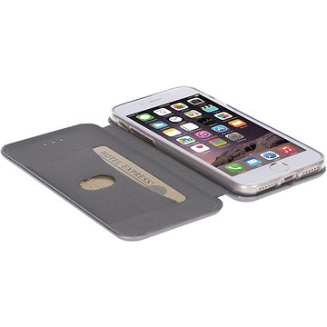 Krusell ORSA FolioCase pro Apple iPhone 7, stříbrné (60734)