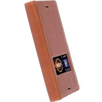 Krusell SIGTUNA SmartCase pro Sony Xperia XZ, koňakové (60815)