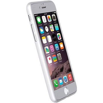 Krusell ARVIKA pro Apple iPhone 7, stříbrné (60722)