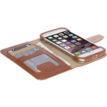 Krusell SIGTUNA FolioWallet pro Apple iPhone 7, koňakové (60727)