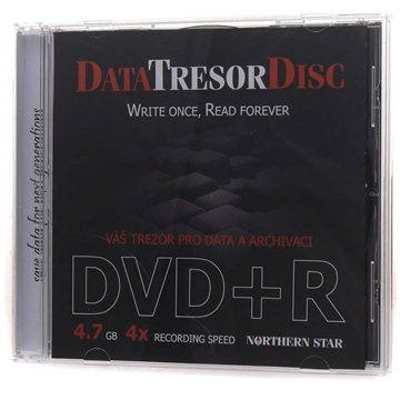 DATA TRESOR DISC DVD+R 1ks v krabičce (DTD1JB4X)