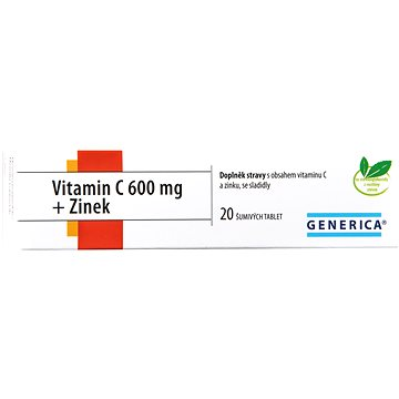 Vitamin C 600 mg + Zinek eff. tbl. 20 (3260602)