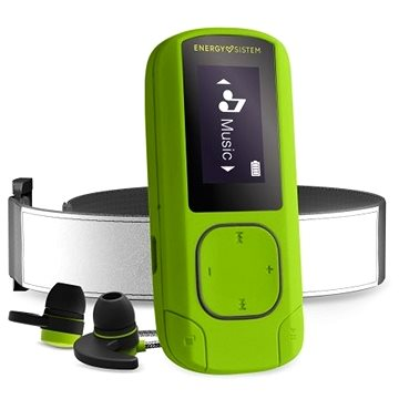 Energy Sistem MP3 Clip Bluetooth Sport 16GB Greenstone (447244)
