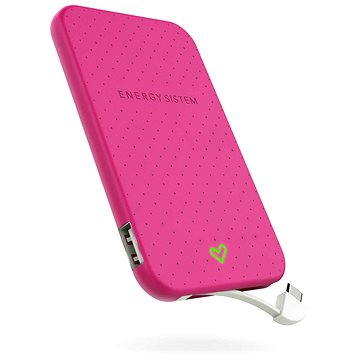 Energy Sistem Extra Battery 2500 Fuchsia (424436)