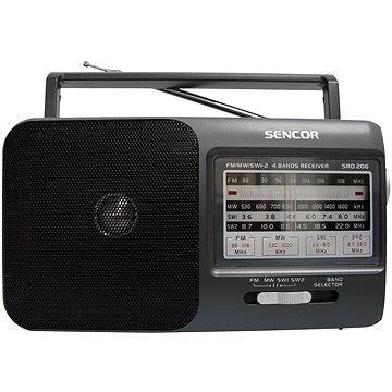 Sencor SRD 206 černé