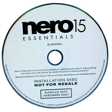Nero 2015 Burn Essentials CD OEM CZ (EMEA-40050001)