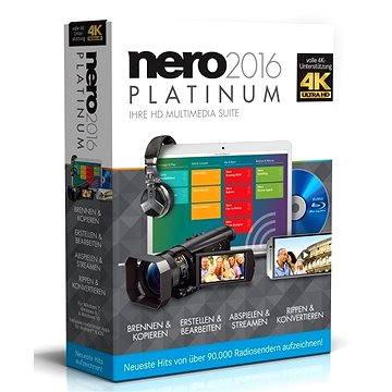 Nero 2016 Platinum CZ (EMEA-12260000/1316)