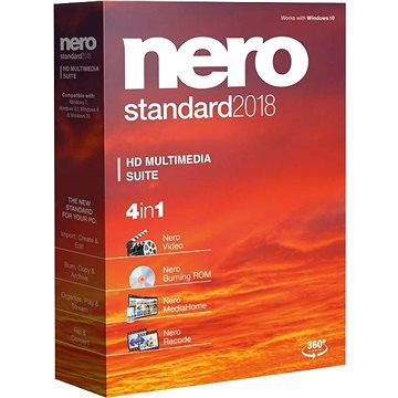 Nero 2018 Standard CZ (EMEA-10080000/1291)