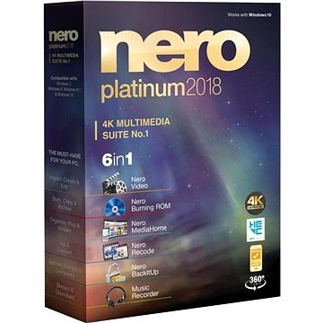 Nero 2018 Platinum CZ (EMEA-12280000/1316)