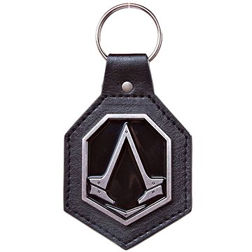 Assassins Creed Syndicate - Pu Keychain with Metal Logo Patch (5908305216940)