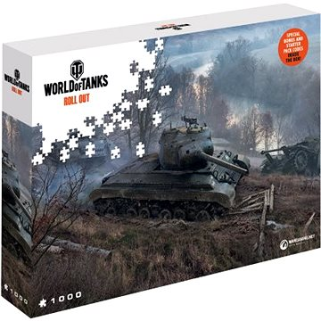 World of Tanks puzzle - Na číhané (5907222426029)