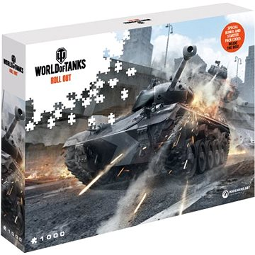 World of Tanks puzzle - Hlídej si záda (5907222426036)
