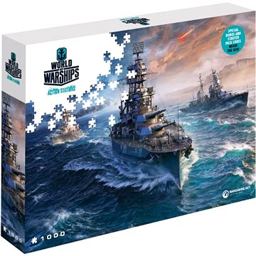 World of Warships puzzle - Připraveni k boji (5907222426043)