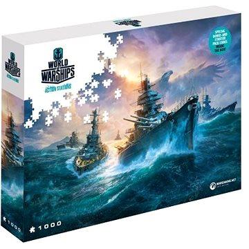 World of Warships puzzle - Německé bitevní lodě (5907222426050)