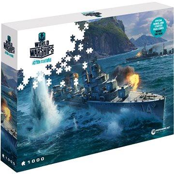 World of Warships puzzle - Panasijské torpédoborce (5907222426074)