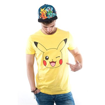 Pokémon Pikachu Print Yellow T-Shirt
