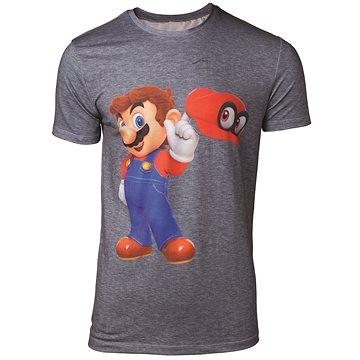 Tričko:Super Mario - Odyssey Mario&Cappy