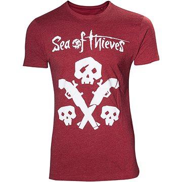 Sea of Thieves - tričko s lebkou a zbraní